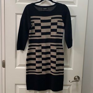 Nine West Sweater dress 3/4 sleeves size small